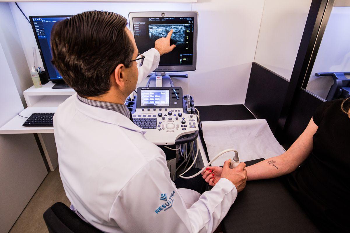 A Clínica - RESULTRA - Ultrassonografia